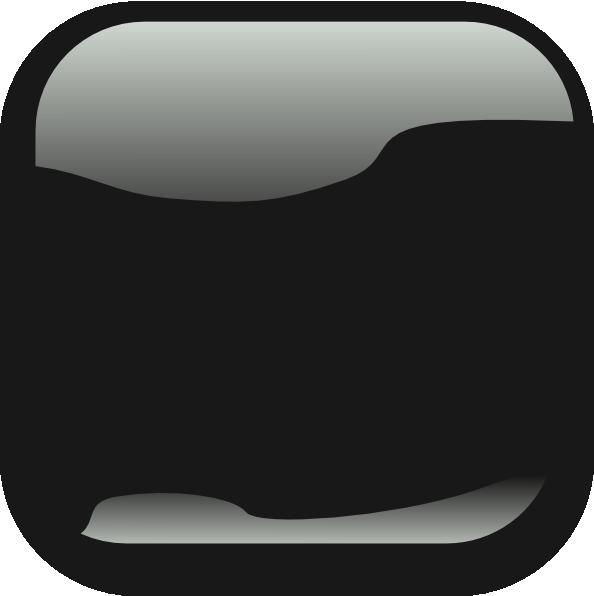 Square Black Crystal Button Clip Art at Clker.com - vector ...