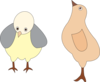Chickens 001 Figure Color Clip Art