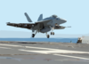 Maiden Combat Deployment Of The F/a-18e Super Hornet. Clip Art