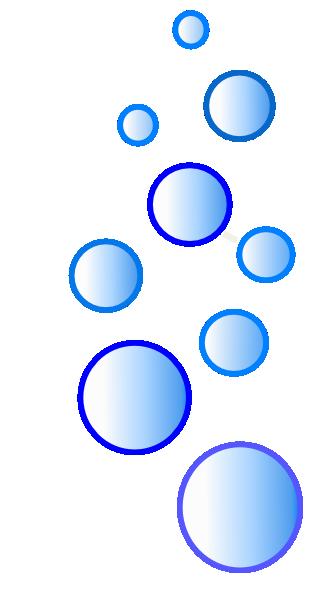Lots Of Blue Bubbles Ok Clip Art At Clker Com Vector