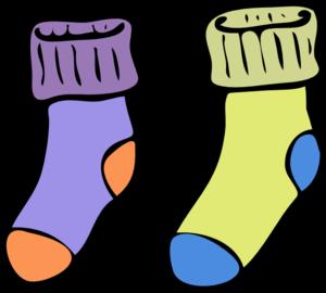 Socks Clip Art at Clker.com - vector clip art online ...