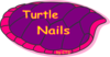 Pink Turtle Nails 2 Clip Art
