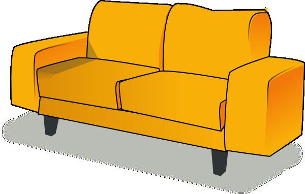 Sofa Clip Art at Clker.com - vector clip art online