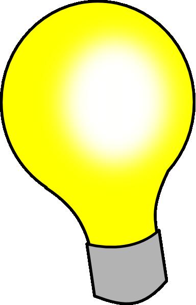 Light Bulb Clip Art At Clker Com Vector Clip Art Online