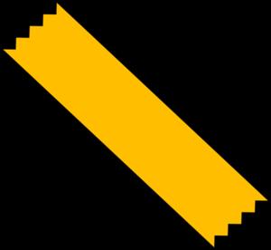 Yellow Duct Tape Clip Art at Clker.com - vector clip art ...