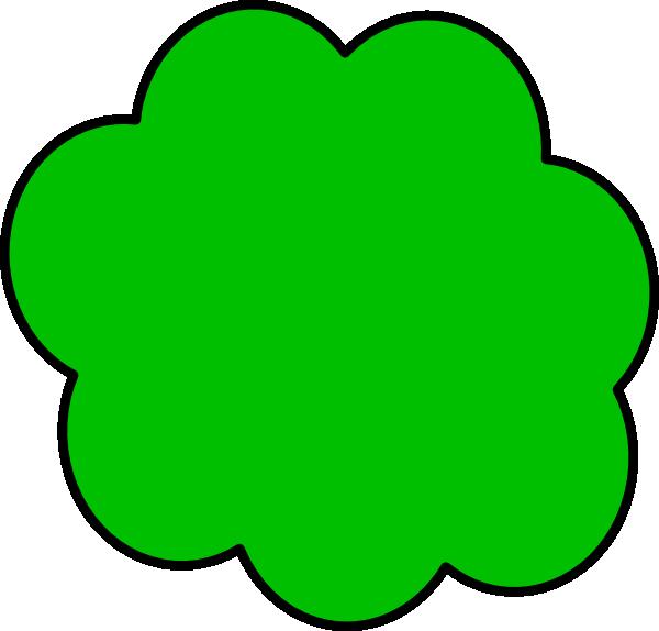 green cloud clip art at clker com