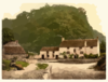 [sir Francis Drake S House Near Severn Bridge, Gatcombe, England] Clip Art