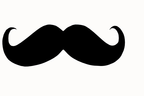 Mustache Looty Clip Art At Clker Com Vector Clip Art