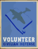 Volunteer Civilian Defense  / Welch. Clip Art