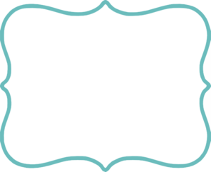 turquoise filled white clip art at clkercom vector clip