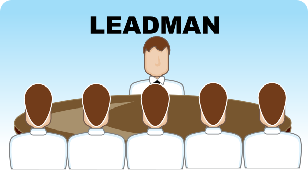Leadman Seating Arrangement (group Discussion) Clip Art at ...