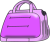 Purple Handbag Clip Art