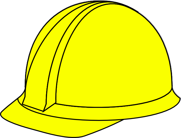conductor hat template - yellow hard hat clip art at vector clip art