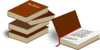 Stacked Books Clip Art