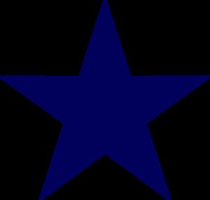 Dark Blue Star Clip Art at Clker.com - vector clip art online ...