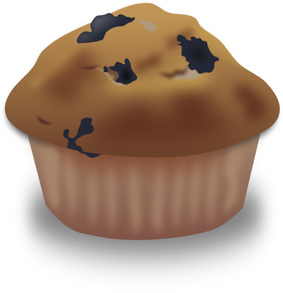 Blueberry Muffin Clip Art at Clker.com - vector clip art ...