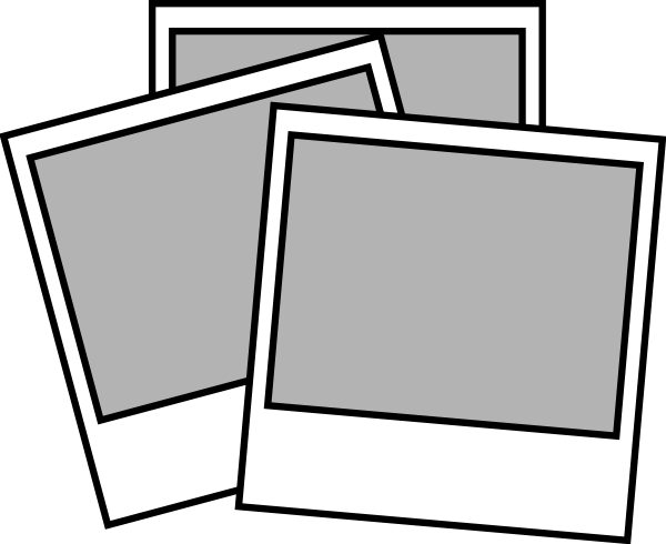 instant photos clip art at clkercom vector clip art