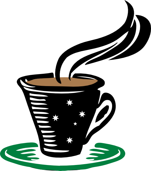 Hot Cup Of Steaming Coffee Clip Art At Clker Com Vector
