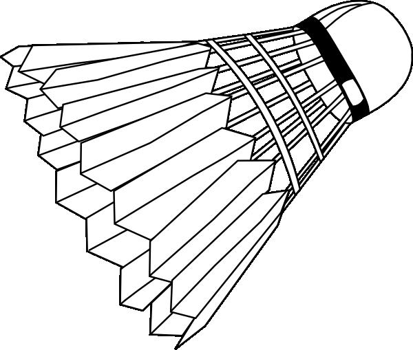 badminton shuttlecock clip art at clker com vector clip tennis clipart for stencils tennis clipart images
