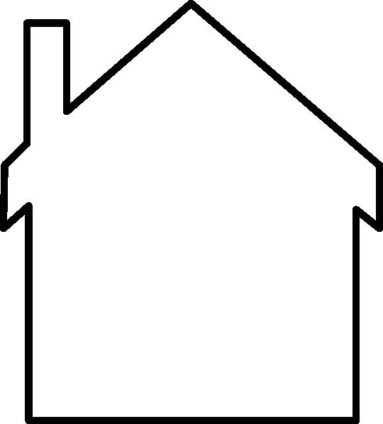 Blank House Logo Clip Art At Clker Com Vector Clip Art