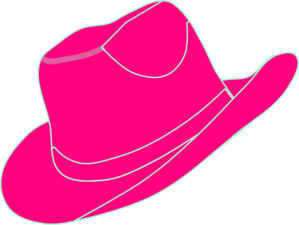 pink cowgirl hat clip art at clker com vector clip art Dale Evans Clip Art Shiny Pink Cow Girl Boots