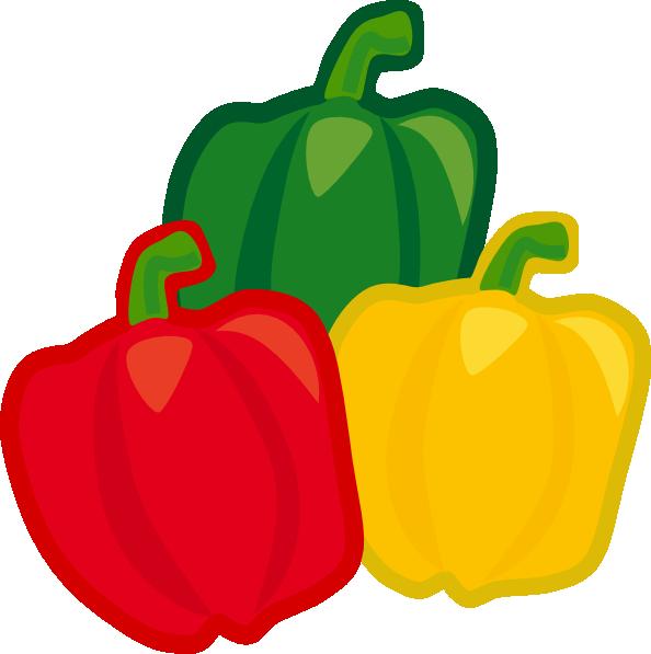 Bell Pepper Mix Clip Art at Clker.com - vector clip art ...