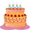 Zalfa Birthday Cake Clip Art