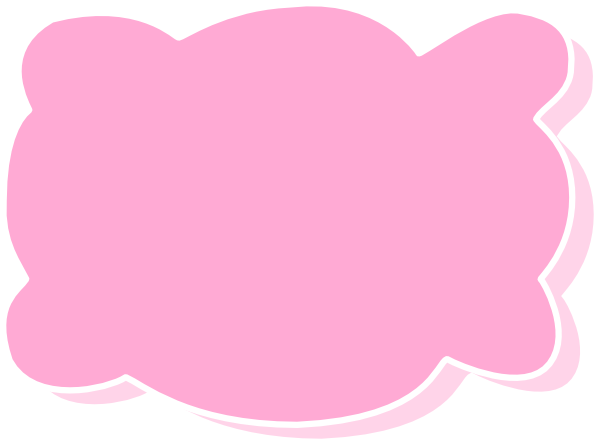 Pink Clould Clip Art at Clker.com - vector clip art online ...