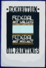 Exhibition - Oil Paintings, Federal Art Gallery Clip Art