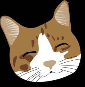 happy cat face clip art at clker com vector clip art Eye Clip Art Black and White Baby Eyes Clip Art