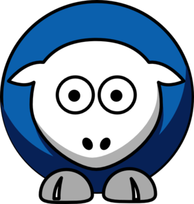 Sheep Dallas Mavericks Team Colors Clip Art