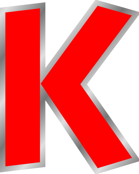 Uppercase K Clip Art At Clker Com