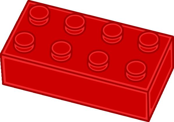 Red Lego Brick Clip Art at Clker.com - vector clip art ...