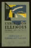 Exhibition Illinois Federal Art Project Works Progress Administration / B.s. Clip Art