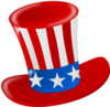 Uncle Sam American Hat Clip Art