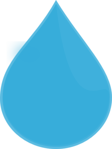 blue water drop clip art at clkercom vector clip art