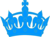 Blue Crown Clip Art