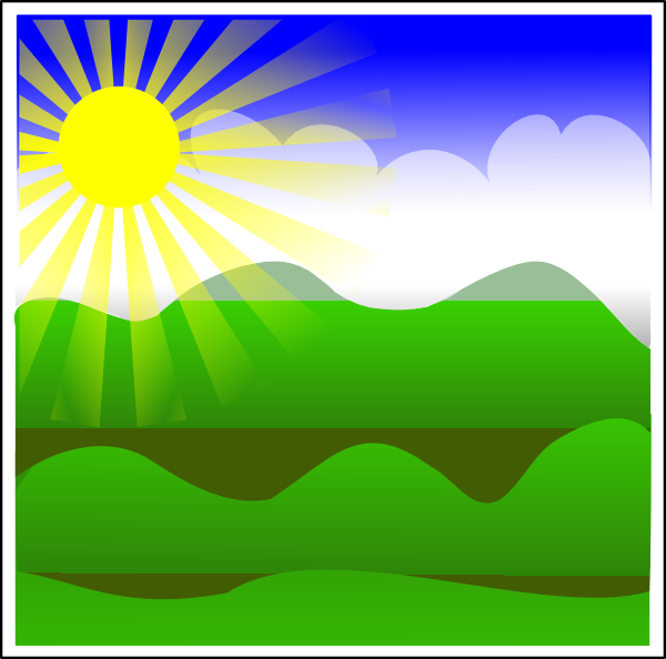 Sunny Clip Art at Clker.com - vector clip art online ...