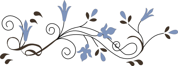 Line Art Flower Design Png : Flower border clip art at clker vector