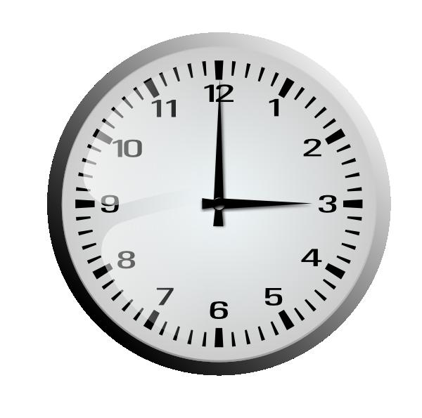 Wall Clock Clip Art At Clker Com Vector Clip Art Online