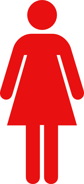 Ladies Bathroom: Women Toilet Symbol Red Clip Art At Clker.com
