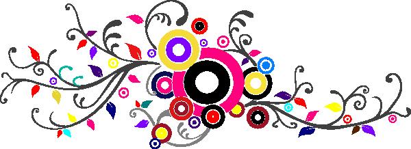 swirl color patru clip art at clkercom vector clip art
