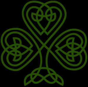 Celtic Shamrock Clip Art at Clker.com - vector clip art ...