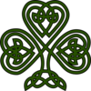 Celtic Shamrock Clip Art