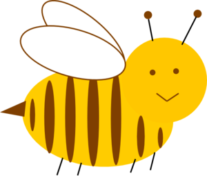 Bee Revised Clip Art