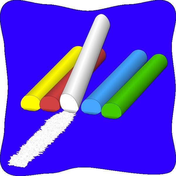 Chalk Clip Art at Clker.com - vector clip art online ...