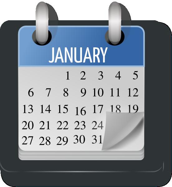 Weekly Calendar Png : Monthly calendar clip art at clker vector