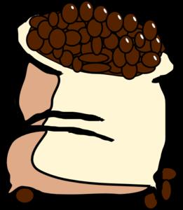 bag of coffee beans clip art at clker com vector clip green beans clip art black and white green bean casserole clip art