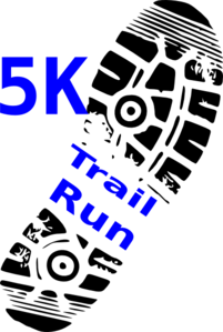 5k Walk And Run Clip Art