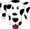 Spotty Dog Clip Art